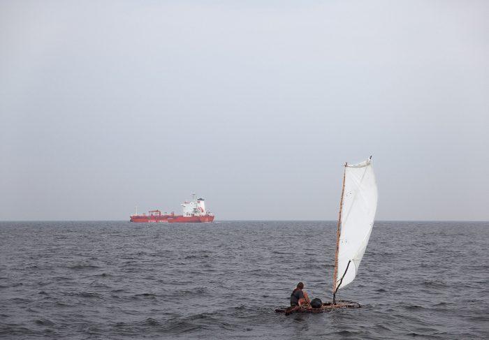 Bark Boat, 2010, 80 x 115 cm, C-print, Diasec