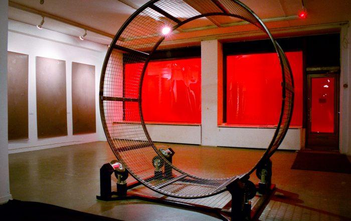 Sweat Work, 2004, exhibition view
