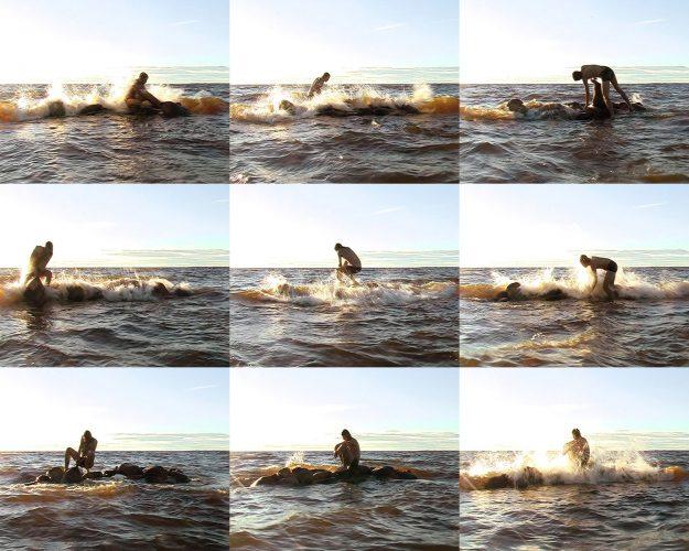 It's My Island, 2007, DV video installation, loop