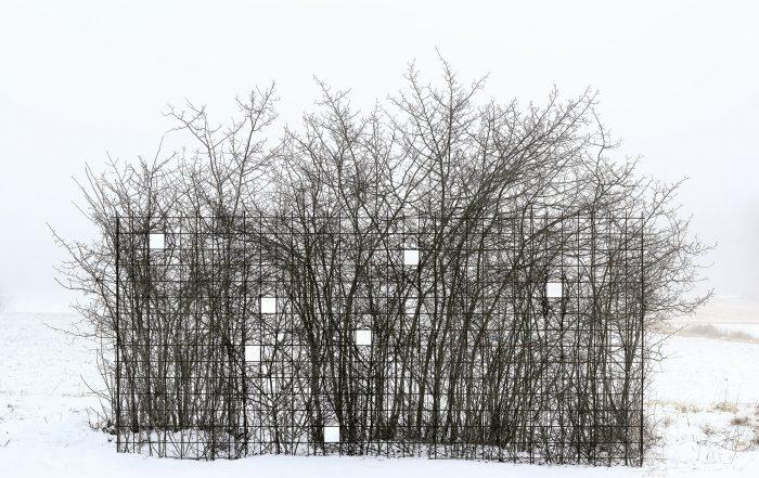 Broken Landscape X, 2020, 63 x 100 cm, pigment print, Diasec
